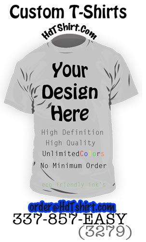 Order Custom Printed T-Shirt